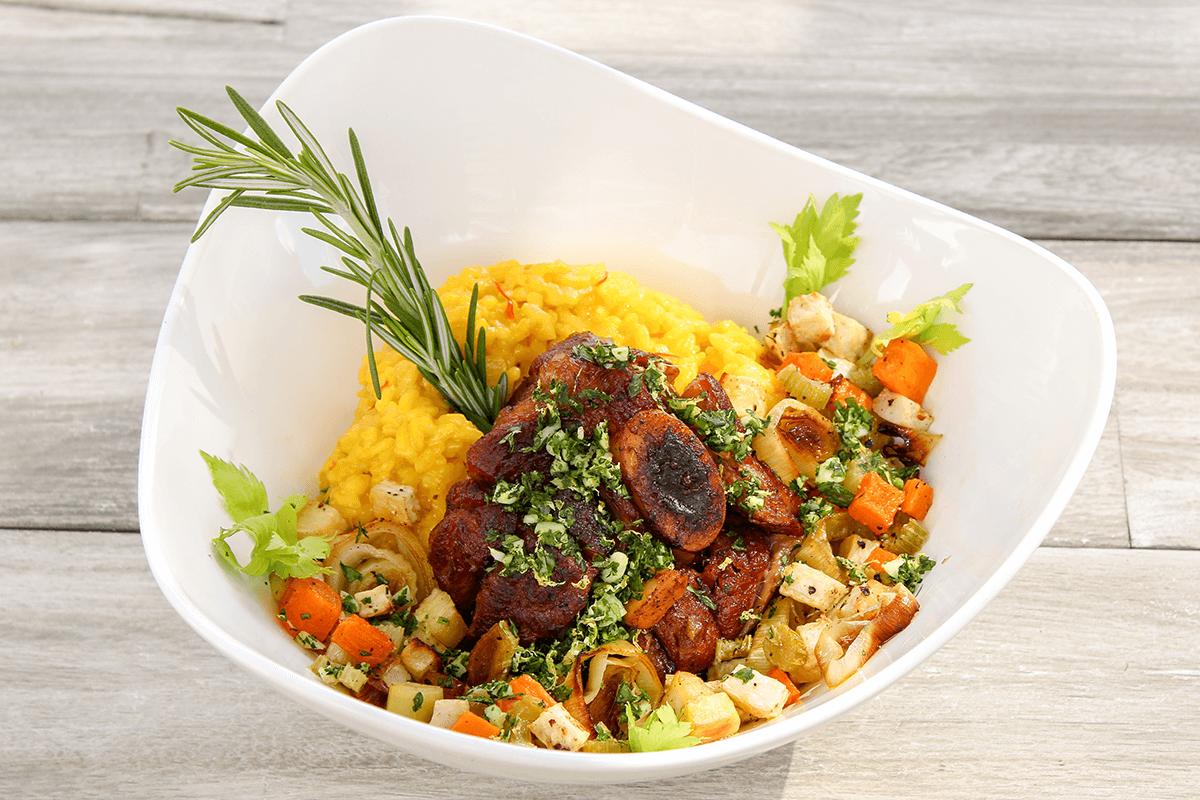 Enjoy our recipe for ossobuco alla Milanese