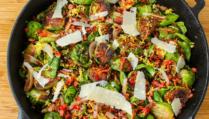 Enjoy our recipe for cavoletti di Bruxelles arrostiti